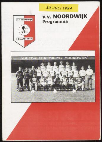 Programmaboekjes (vanaf 1934) 1994-07-30