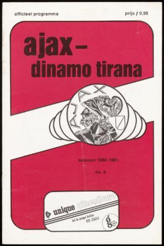 Programmaboekjes (vanaf 1934) 1980-10-01