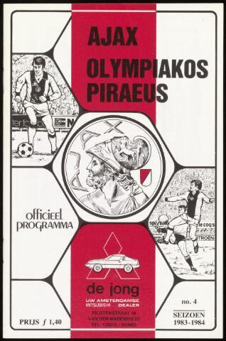 Programmaboekjes (vanaf 1934) 1983-09-14