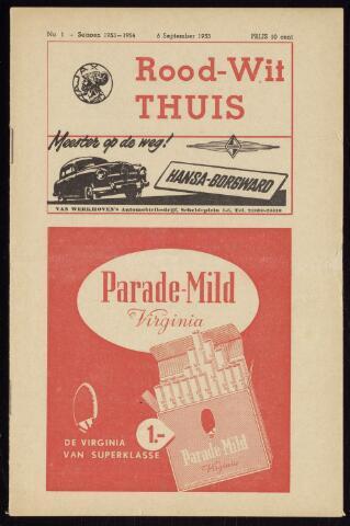 Programmaboekjes (vanaf 1934) 1953-09-06