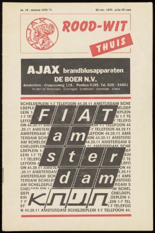 Programmaboekjes (vanaf 1934) 1970-11-22