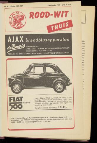 Programmaboekjes (vanaf 1934) 1966-09-03