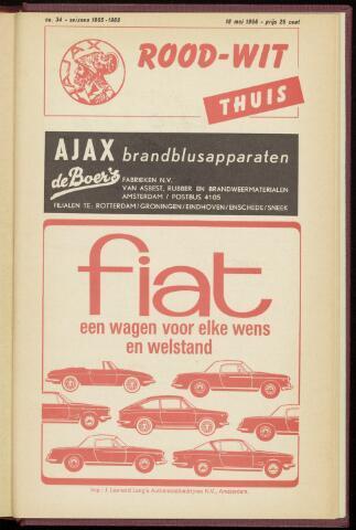 Programmaboekjes (vanaf 1934) 1966-05-18