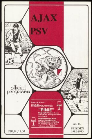 Programmaboekjes (vanaf 1934) 1983-03-06