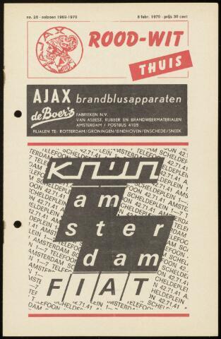Programmaboekjes (vanaf 1934) 1970-02-08
