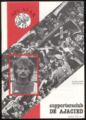 Clubblad De Ajacied (1997-2009) 1987