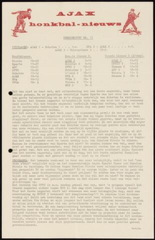 Honkbal nieuws (1963-1972) 1965-07-19