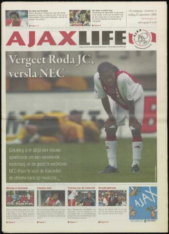Ajax Life (vanaf 1994) 2006-09-22