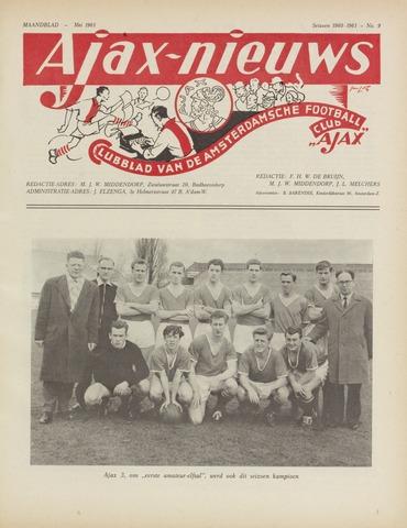 Clubnieuws Ajax (vanaf 1916) 1961-05-01