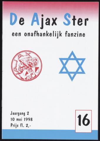Fanzine De Ajax Ster (1996-2001) 1998-05-10
