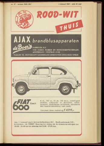 Programmaboekjes (vanaf 1934) 1967-02-04