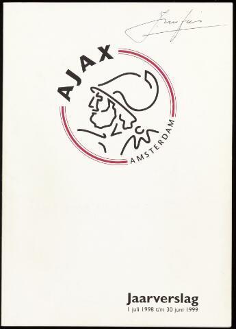 Jaarverslagen Vereniging (vanaf 1964) 1999-06-30