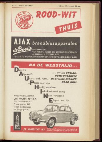 Programmaboekjes (vanaf 1934) 1965-02-14