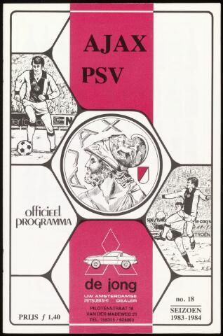 Programmaboekjes (vanaf 1934) 1984-04-21