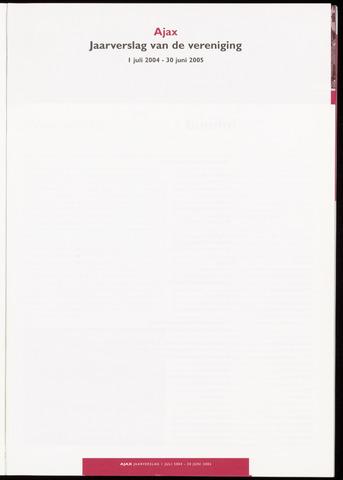 Jaarverslagen Vereniging (vanaf 1964) 2005-06-30