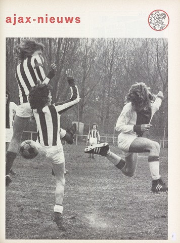 Clubnieuws Ajax (vanaf 1916) 1973-05-01