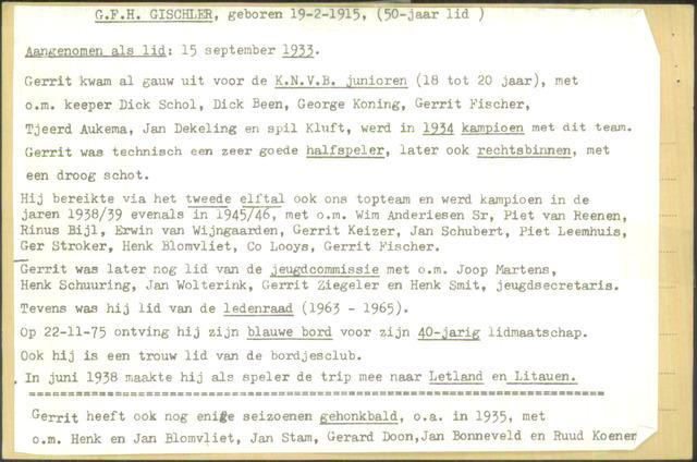 Ledenkaarten (1911-1989) 1933