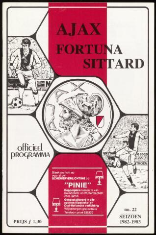 Programmaboekjes (vanaf 1934) 1983-05-14