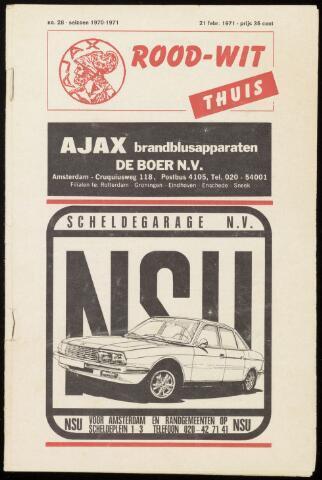 Programmaboekjes (vanaf 1934) 1971-02-21