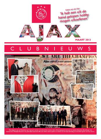 Clubnieuws Ajax (vanaf 1916) 2013-03-01