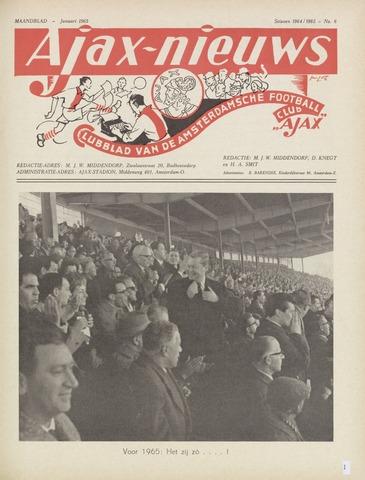 Clubnieuws Ajax (vanaf 1916) 1965-01-01