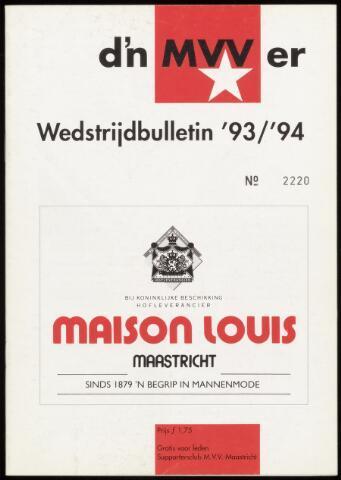 Programmaboekjes (vanaf 1934) 1993-09-01