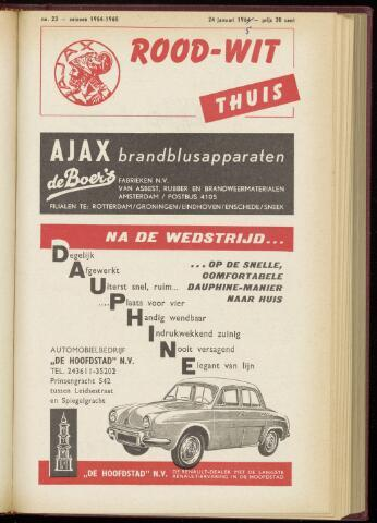 Programmaboekjes (vanaf 1934) 1965-01-24