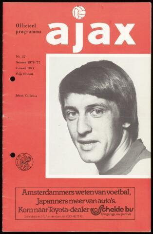 Programmaboekjes (vanaf 1934) 1977-03-06