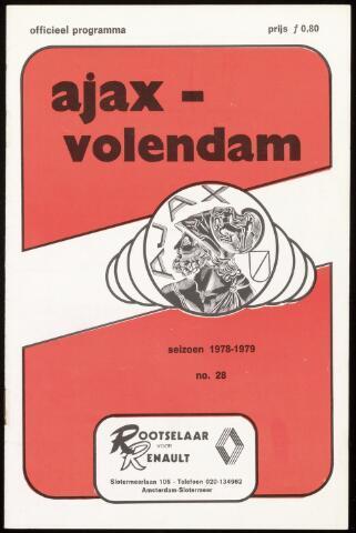 Programmaboekjes (vanaf 1934) 1979-04-24