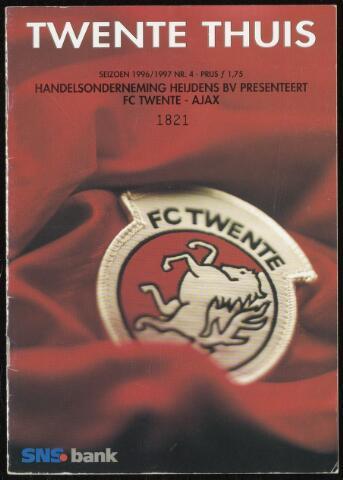 Programmaboekjes (vanaf 1934) 1996-09-29