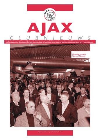 Clubnieuws Ajax (vanaf 1916) 2004-01-01