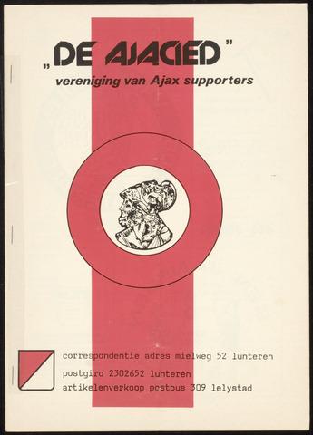 Clubblad De Ajacied (1997-2009) 1978-08-14