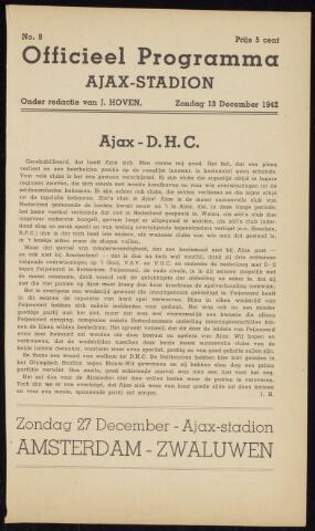 Programmaboekjes (vanaf 1934) 1942-12-13