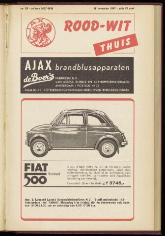 Programmaboekjes (vanaf 1934) 1967-11-26