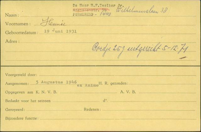 Ledenkaarten (1911-1989) 1946-08-05