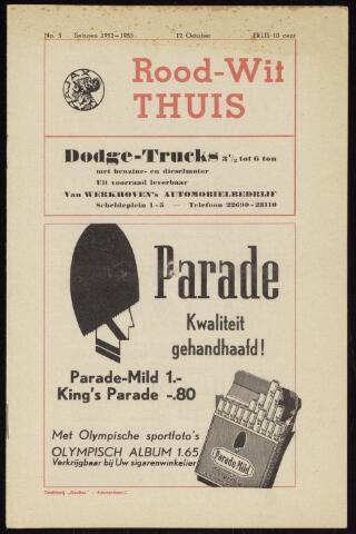 Programmaboekjes (vanaf 1934) 1952-10-12