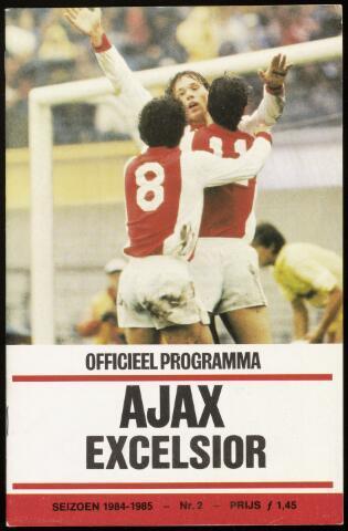 Programmaboekjes (vanaf 1934) 1984-09-09