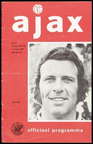Programmaboekjes (vanaf 1934) 1975-03-31