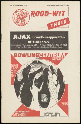 Programmaboekjes (vanaf 1934) 1971-12-05