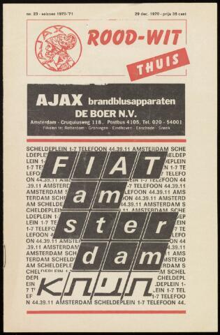 Programmaboekjes (vanaf 1934) 1970-12-29