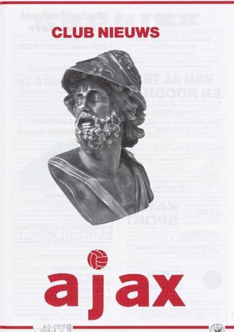 Clubnieuws Ajax (vanaf 1916) 1989-06-01