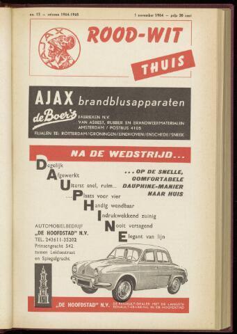 Programmaboekjes (vanaf 1934) 1964-11-01