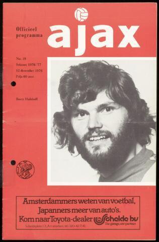 Programmaboekjes (vanaf 1934) 1976-12-12