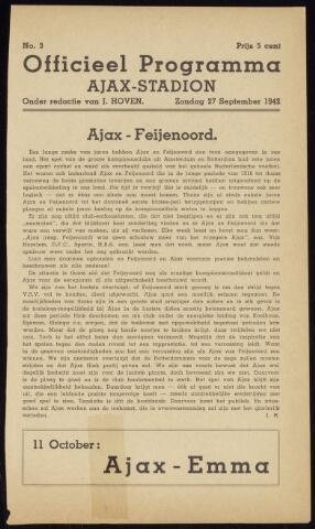Programmaboekjes (vanaf 1934) 1942-09-27