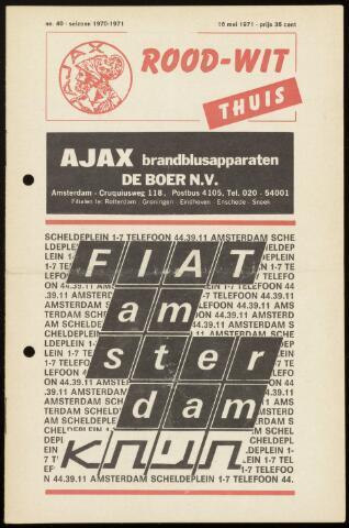 Programmaboekjes (vanaf 1934) 1971-05-16