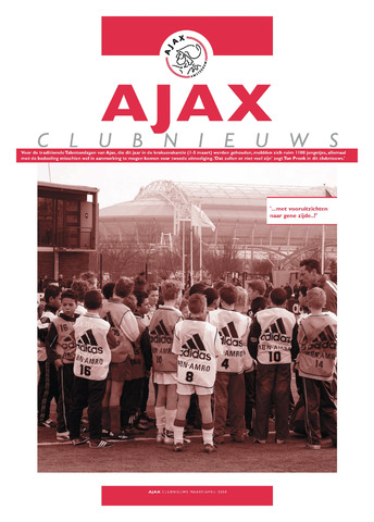 Clubnieuws Ajax (vanaf 1916) 2004-03-01