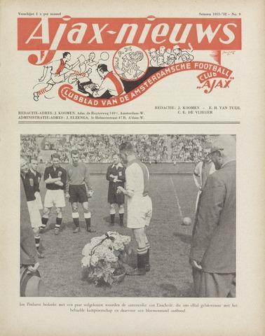 Clubnieuws Ajax (vanaf 1916) 1952-05-01