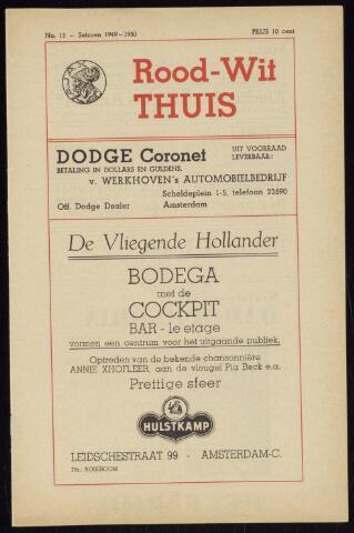 Programmaboekjes (vanaf 1934) 1949-11-27