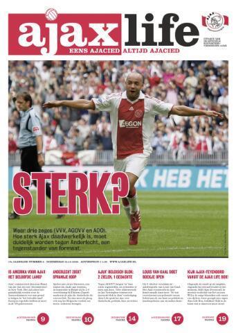 Ajax Life (vanaf 1994) 2009-10-01