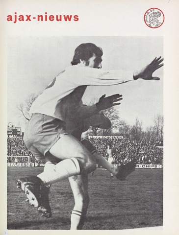 Clubnieuws Ajax (vanaf 1916) 1971-01-01